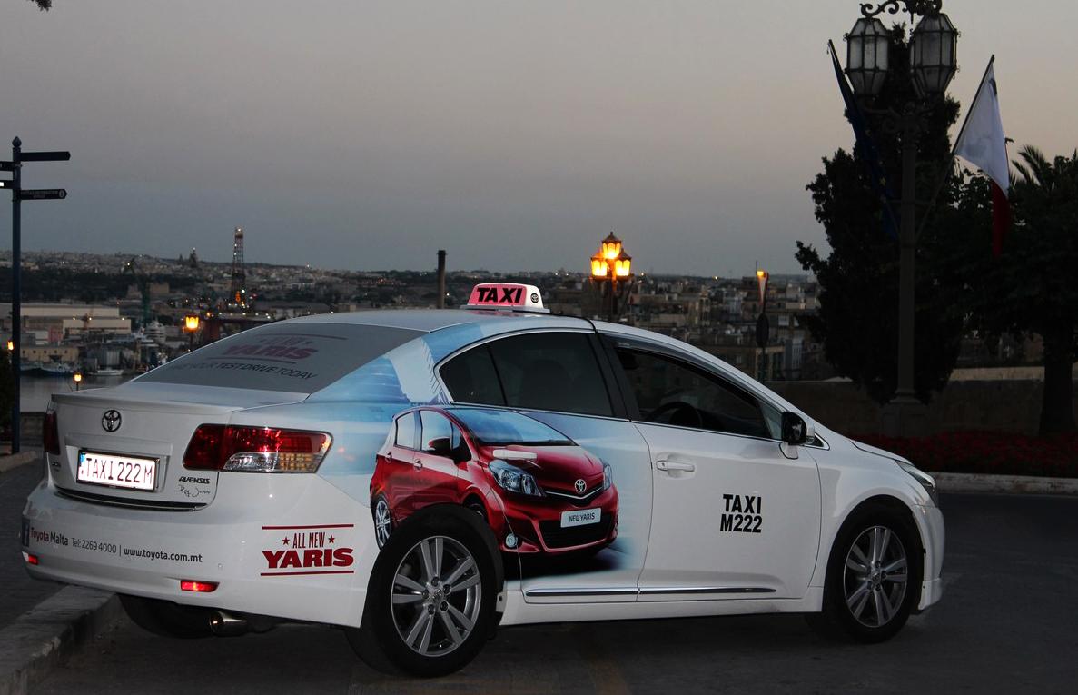 Такси на Мальте