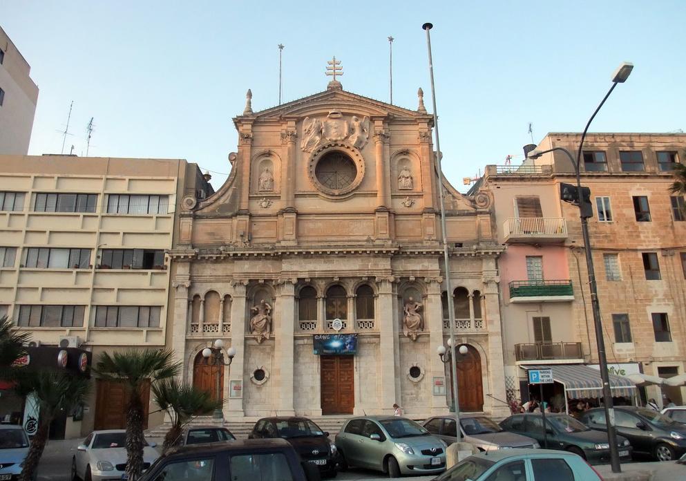 Одна из церквей в Слиме
