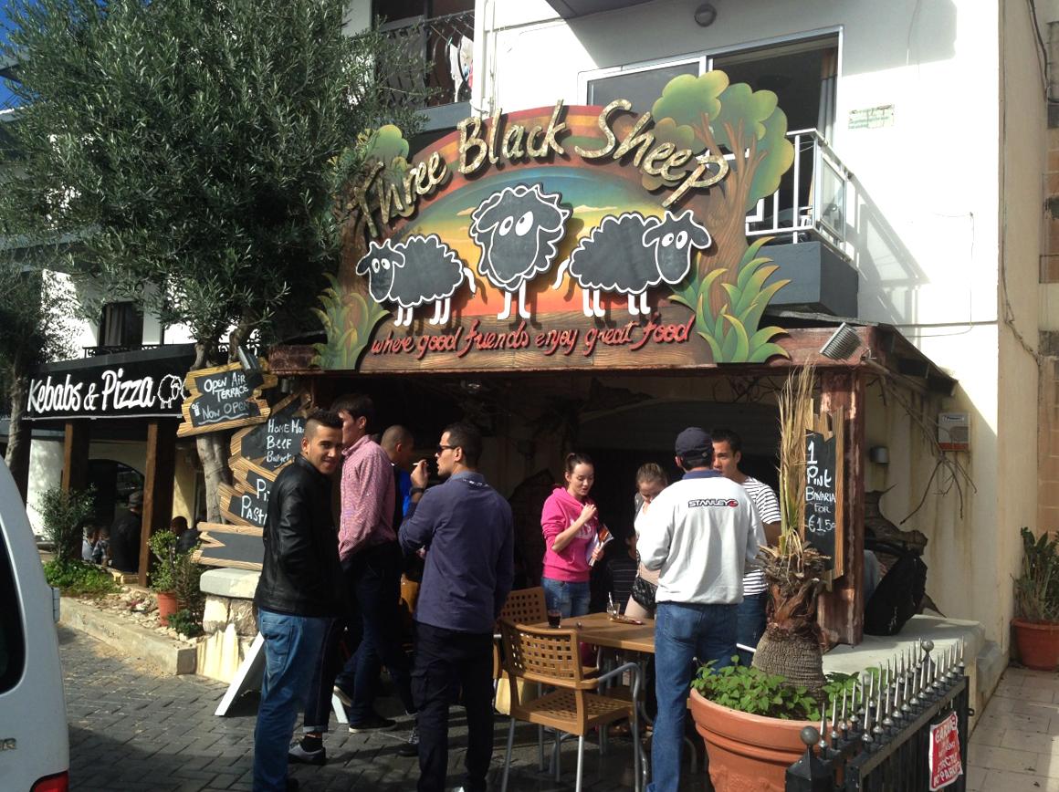 Ресторан Three Black Sheep