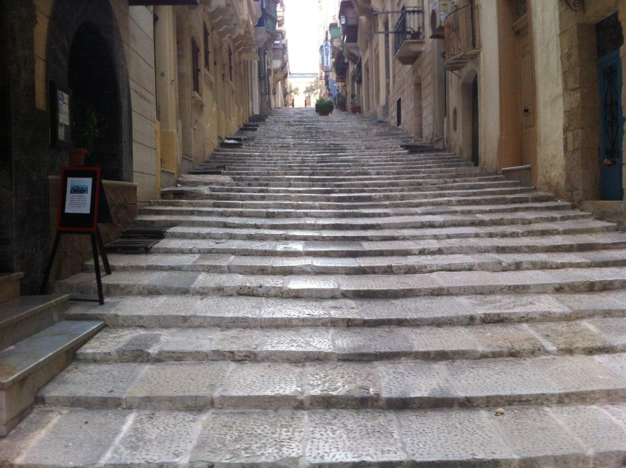 Одна из улиц Валлетты