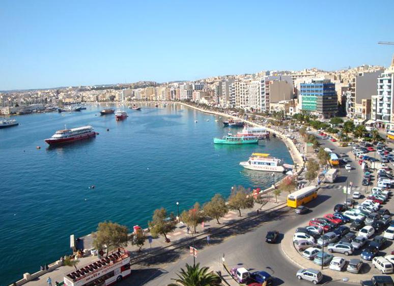 Слима - известный мальтийский курорт
