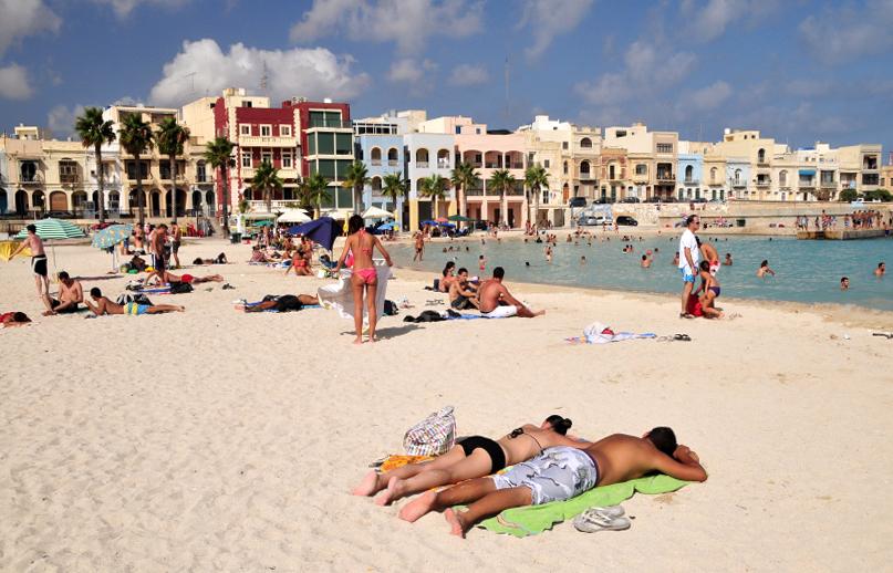 Пляжи на Мальте открываются уже весной